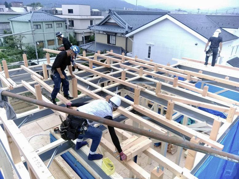 構造計算440項目をパスして建築される「地震に強い自信の家」