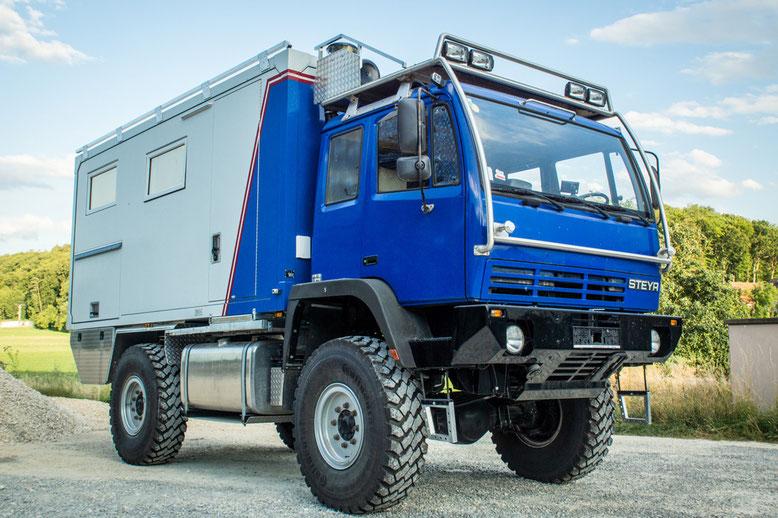 Steyr 12m18 Fernreisemobil Technik Quot Frm Technik Quot F 252 R