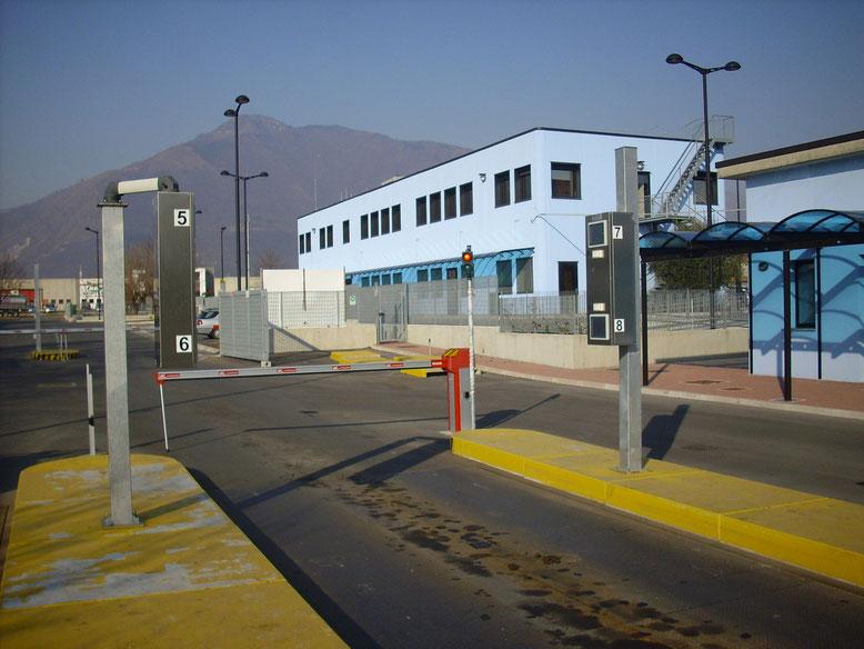 sistema di controllo accessi Rovereto Trento