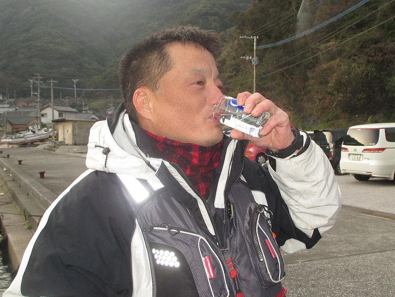 朝からワンカッパー\(^o^)/