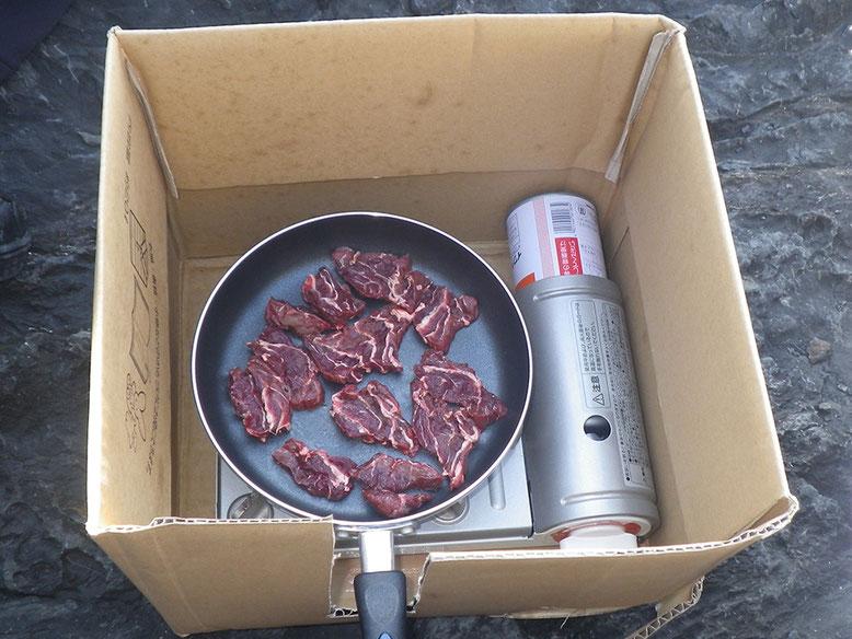 馬の焼き肉(^o^) バリウマです