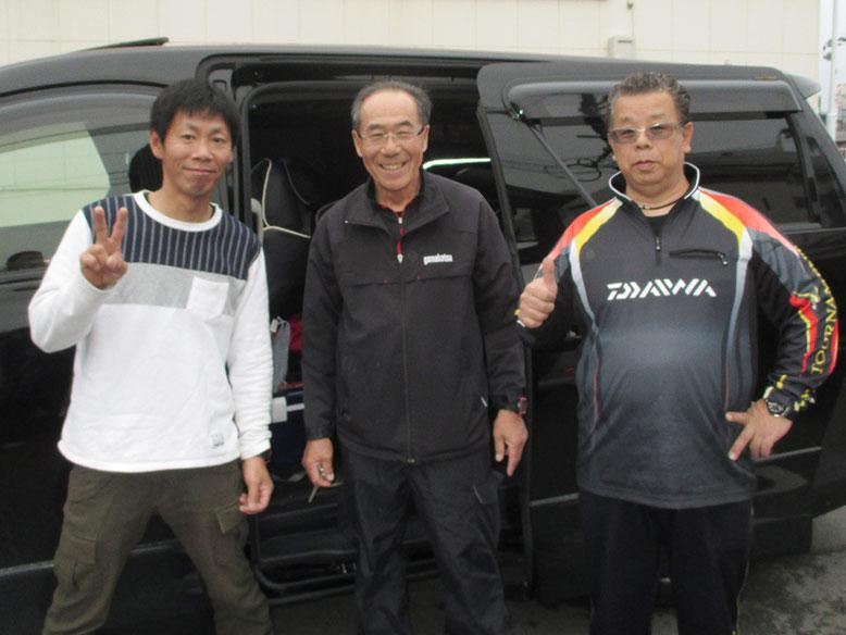 大分経由で司P、本村さん、みかちゃんが行きます。頑張ってきてね〜〜〜