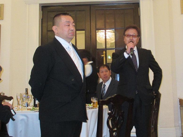 大先生と私からも軽く挨拶(*^^*)