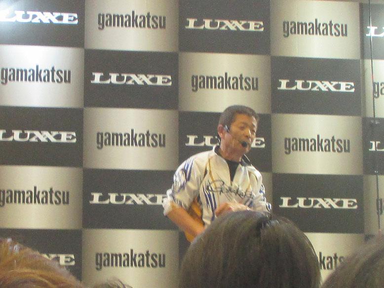 松田稔さんが講演してました。