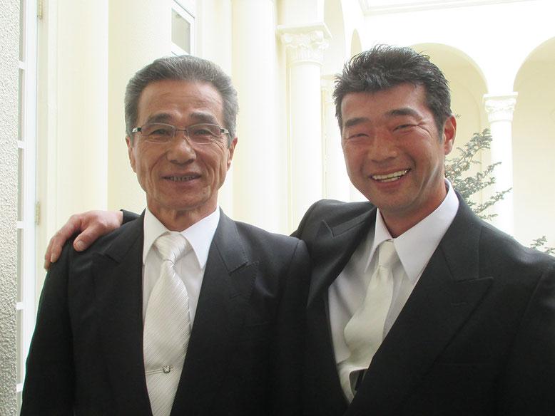 武ちゃんのお父さんです