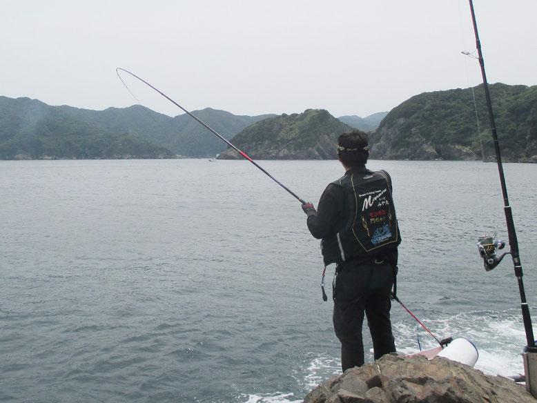 門ちゃんにもまともな魚がやっと!!