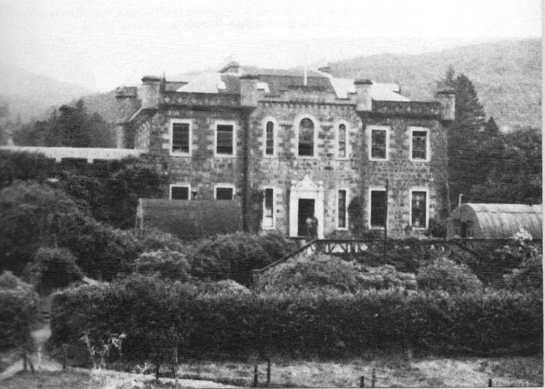 """""""Achnacarry House"""": Commando Depot, Trainingszentrum aller Commandos und HQ des 10. Cdo."""