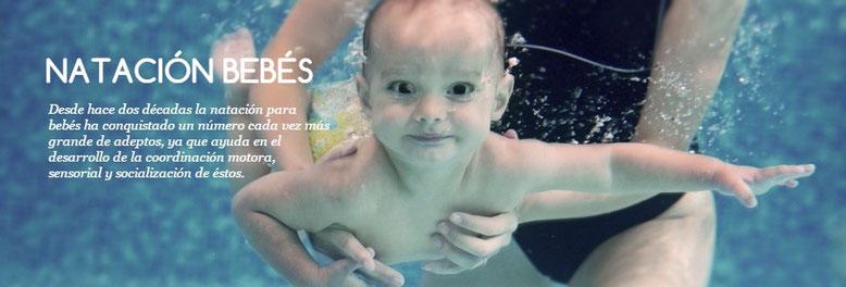 El agua estimula la creatividad en los bebés, fortalece el sistema cardiorespiratorio y mejora la coordinación