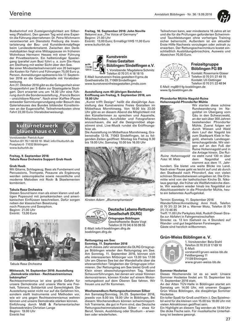Amtsblatt Böblingen