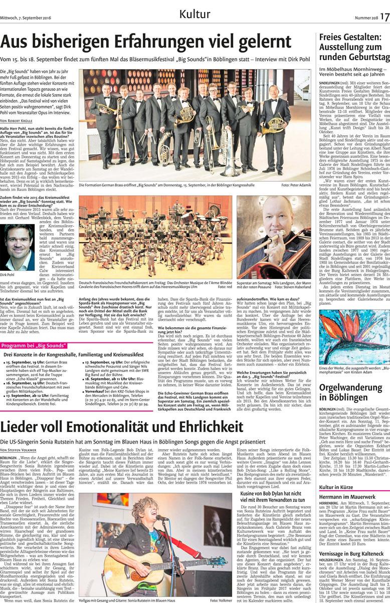 Kreiszeitung Böblingen