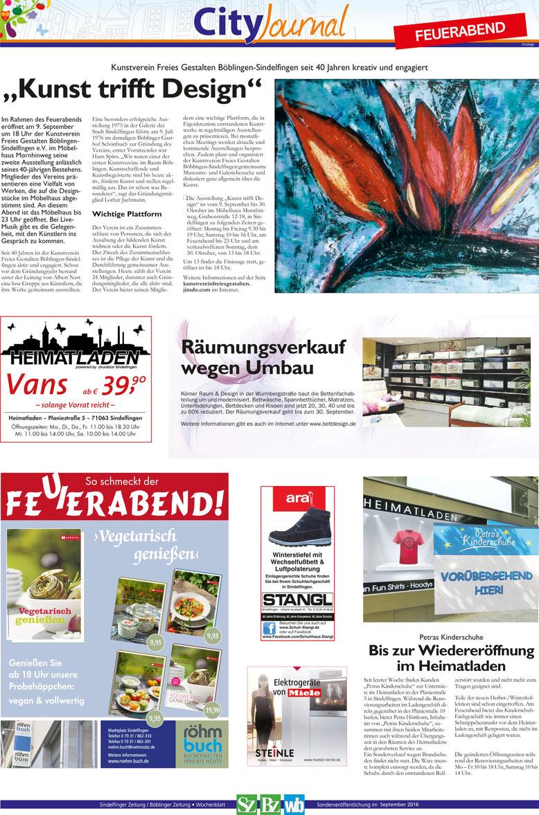 Cityjournal Sindelfingen