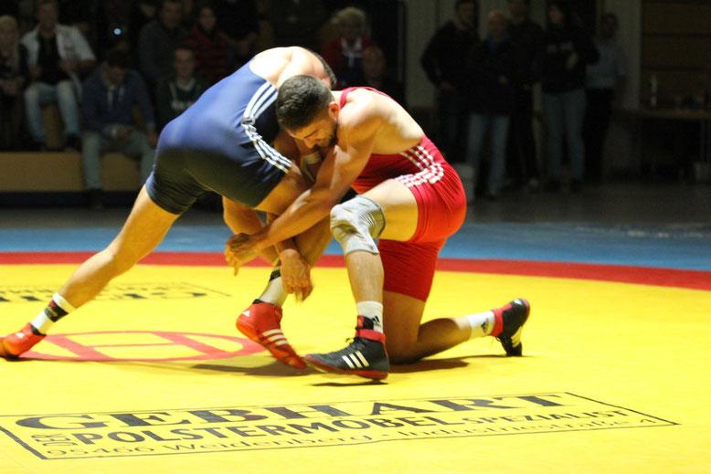 Vlad-Bogdan Boeriu gegen Steve Masuch 86 kg freier Stil
