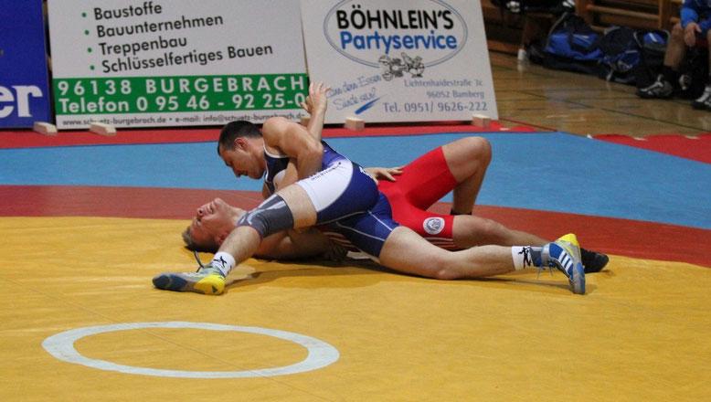 Sergej Lugovoy gegen Nico Gromotka 66 kg gr.-röm.