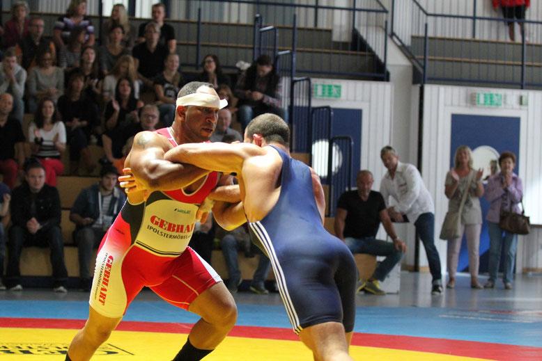 Jeremiah Scott gegen Eugen Ponomartschuk 130 kg gr.-röm.