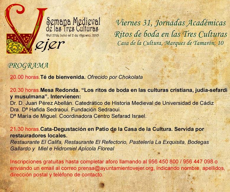 Programa-Semana-Medieval-Vejer