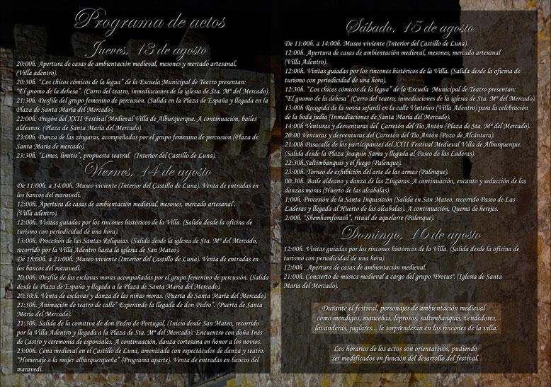 Programa-Festival-Medieval-Alburquerque