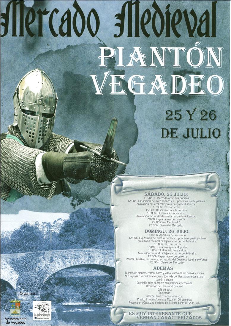 Programa del Mercado Medieval en Vegadeo