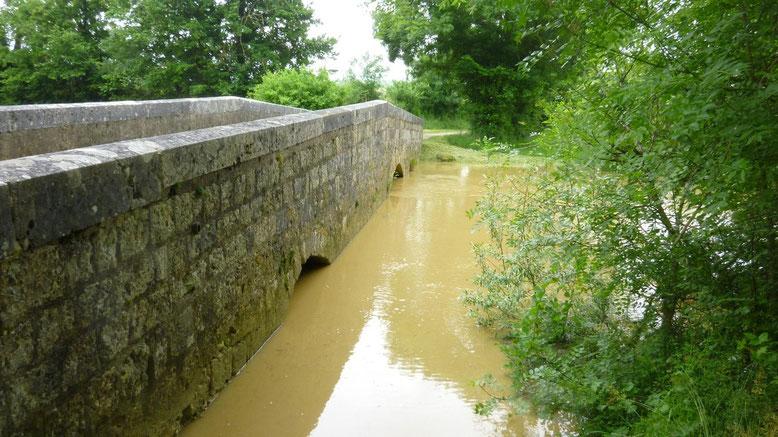 GR65, Pont d'Artigues