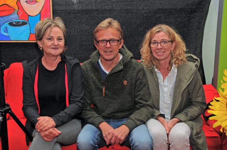 Vorstand von vitART 2019 - Silvia Zelmer, Andreas Post und Waltraud Leskovsek | Bild: vitArt