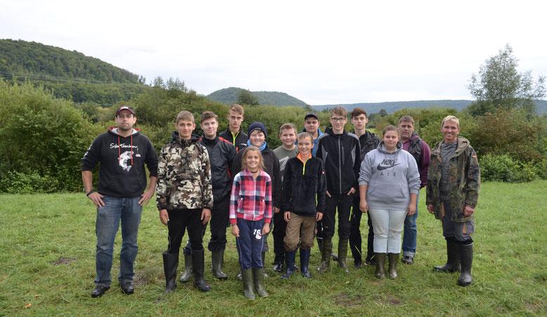 Gruppen Foto Jugend Zeltlager 2017