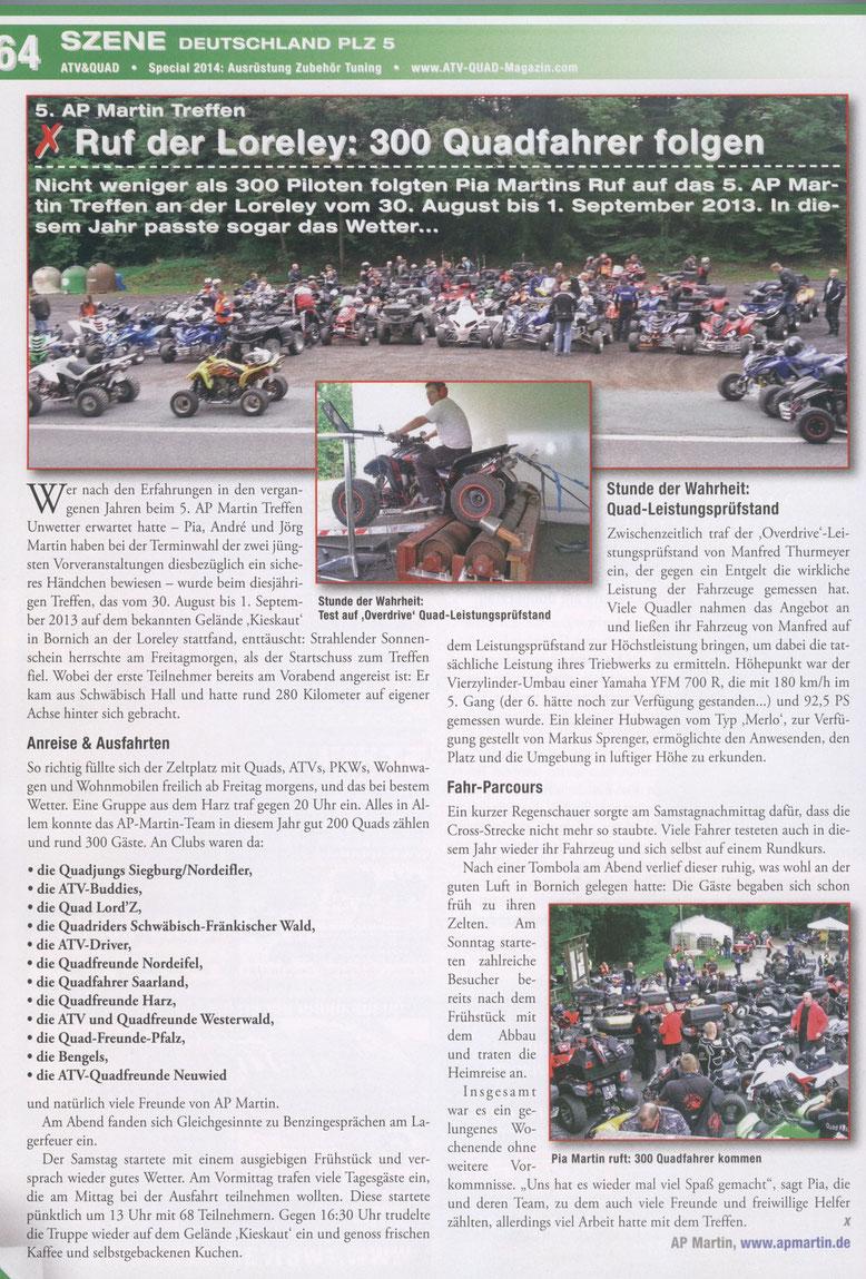 ATV - und Quadmagazin 10/2013