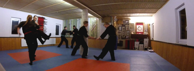 Kampfkunsttraining Ehrenberg