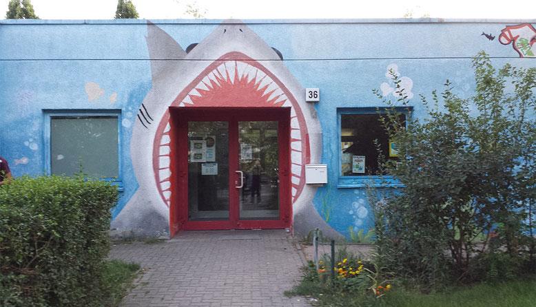 Eingang Jugendclub