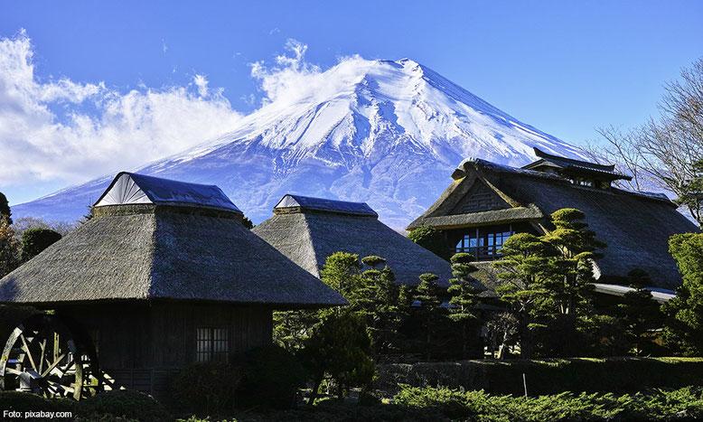 Blick zum Fuji-san