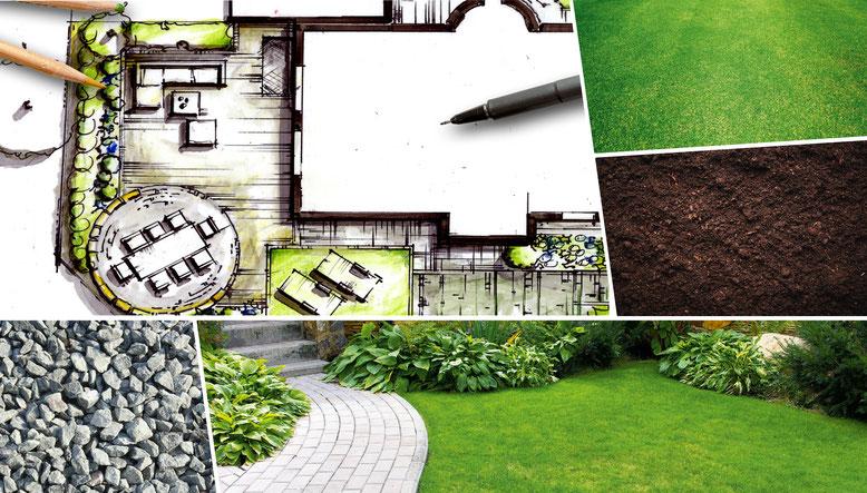 Grafik Leistungen Kirchhoff Gartenplanung