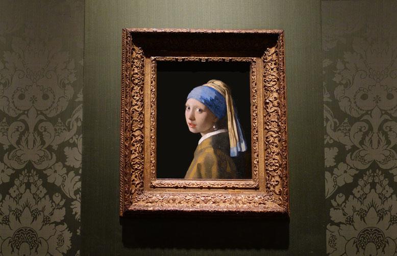12/11/2017 - Johannes Vermeer, La jeune fille à la perle (1665)