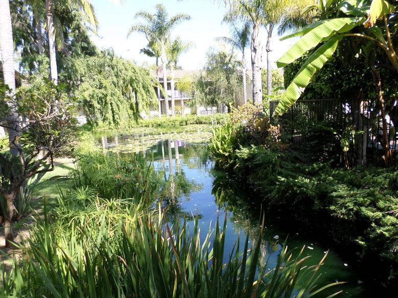Jardins de l'hotel Ramada Limited