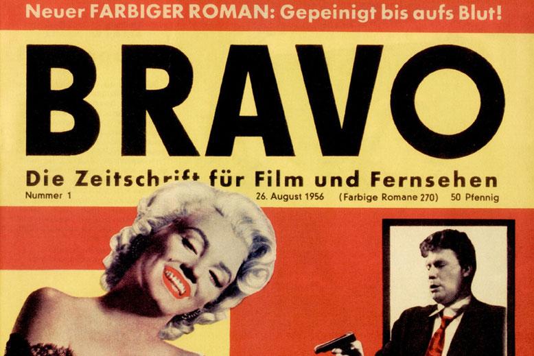 Bravo Heft 1 mit dem letzten Roman der Reihe Farbige Romane Band 270