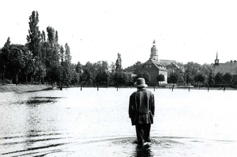 Ein Foto aus der Sammlung von Gerhard Schlosser, mutmaßlich vom alten Lehrer Kunze aufgenommen