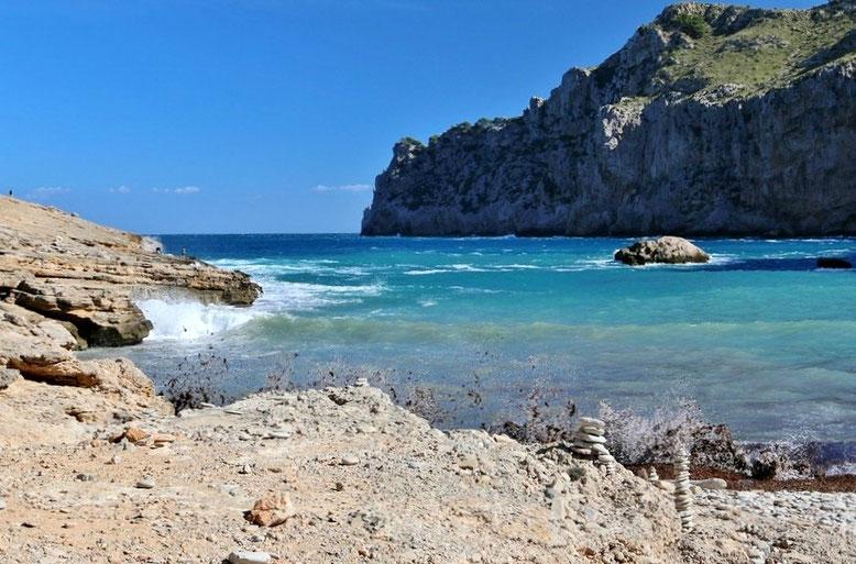 Cala Figuera bei Formentor, Reisebericht Mallorca