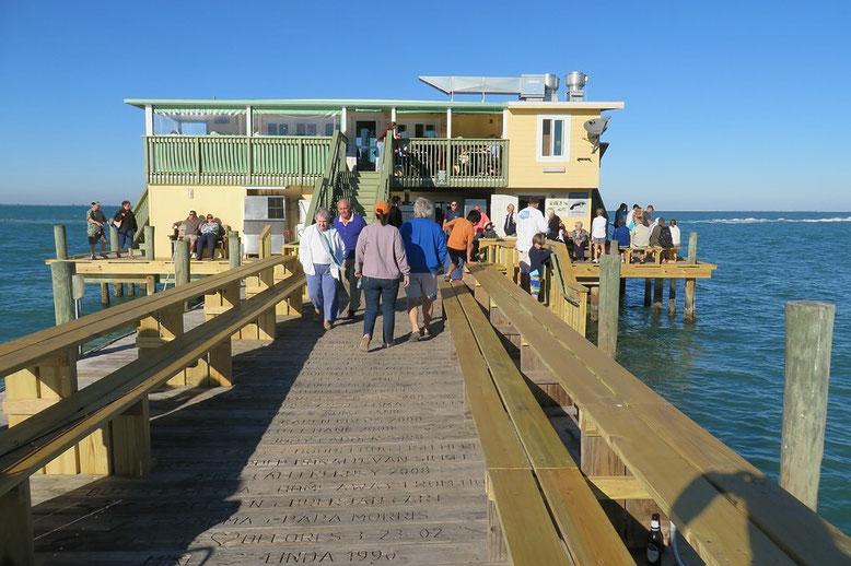 Pier von Anna Maria Island