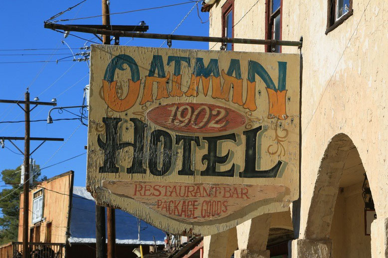 Route 66, Oatman