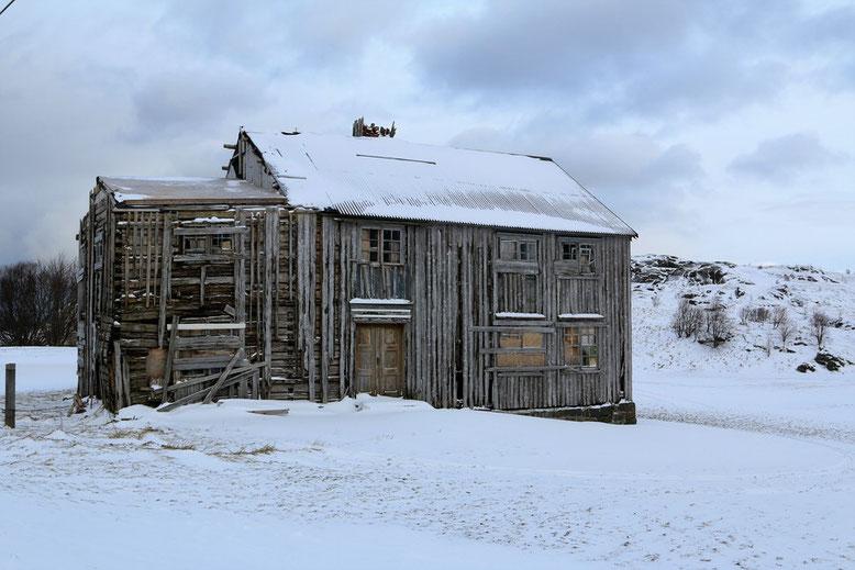 Alte Scheune bei Ytresand, Lofoten