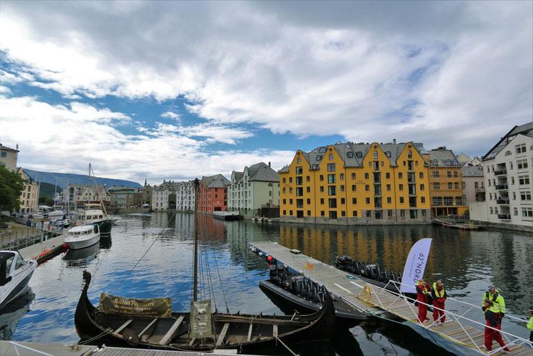 Reisebericht Norwegen Wohnmobil, Ålesund