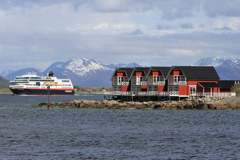 Stokmarknes, Norwegen mit Wohnmobil, Reisebericht Langøya