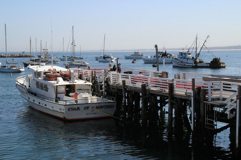 Monterey. Old Fishermans Wharf