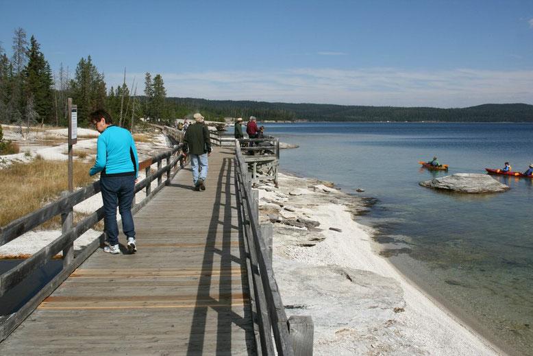 Fahrt Yellowstone - Teton - Jackson