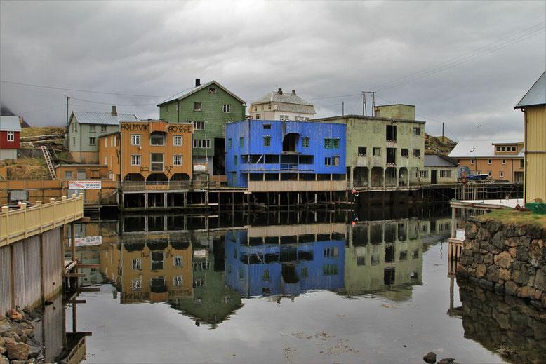 Norwegen mit Wohnmobil, Reisebericht Langøya, Nyksund