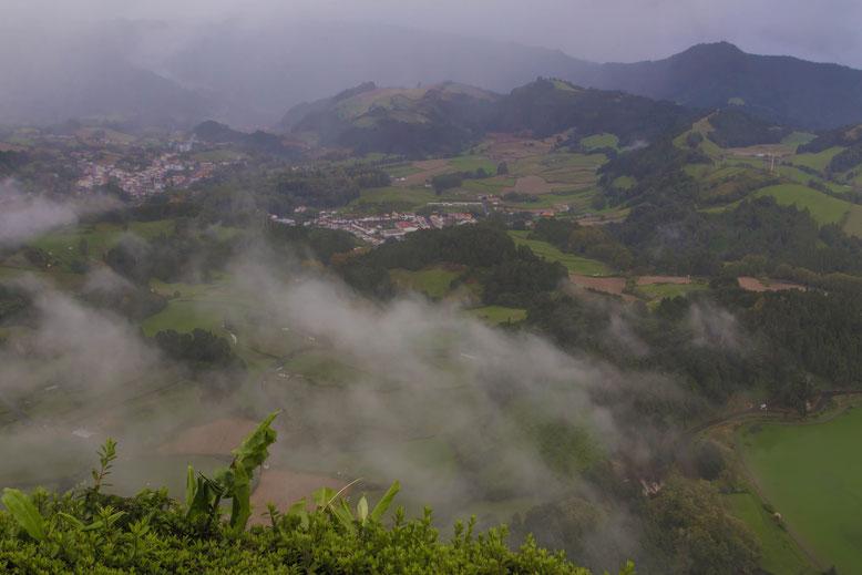 Miradouro do Pico do Ferro, Sao Miguel Azoren
