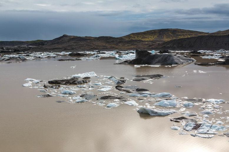 Svinafellsjökull,   Nationalpark Skaftafell