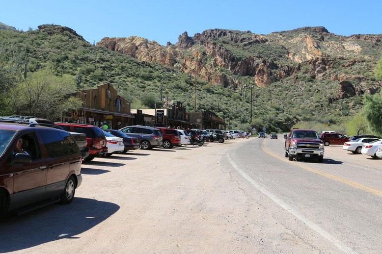 Apache Trail, Tortilla Flat