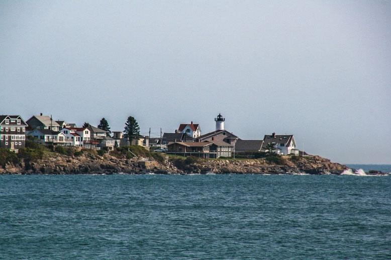 Cape Neddick - Nubble Lighthouse - Ogunquit - Boothbay Harbor