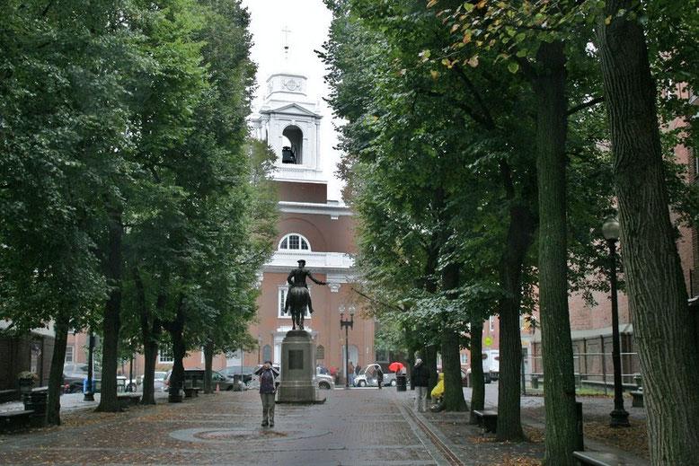 Rachel Revere Square, benannt nach der zweiten Ehefrau Reveres
