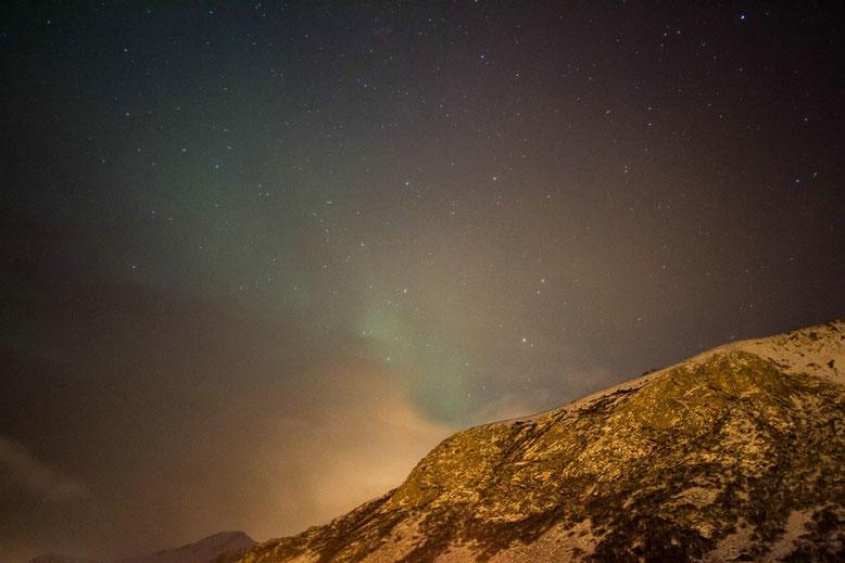 Lofoten, Polarlichter