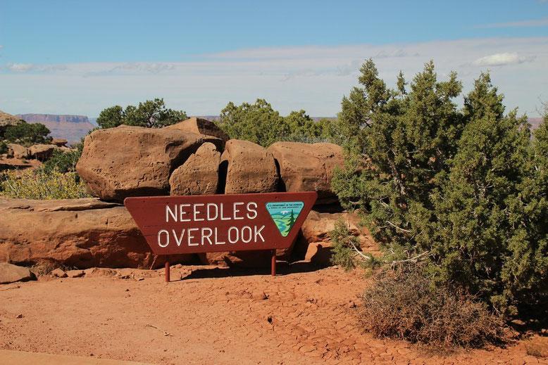 Needles Overlook