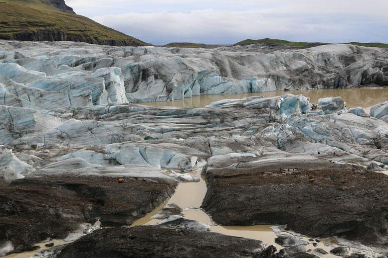 Svínafellsjökull,  Nationalpark Skaftafell